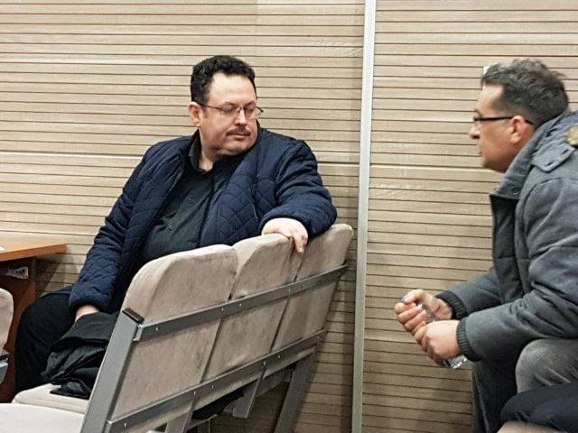 Ugur Toksoy at Pristina Basic Court on Thursday. Photo: BIRN