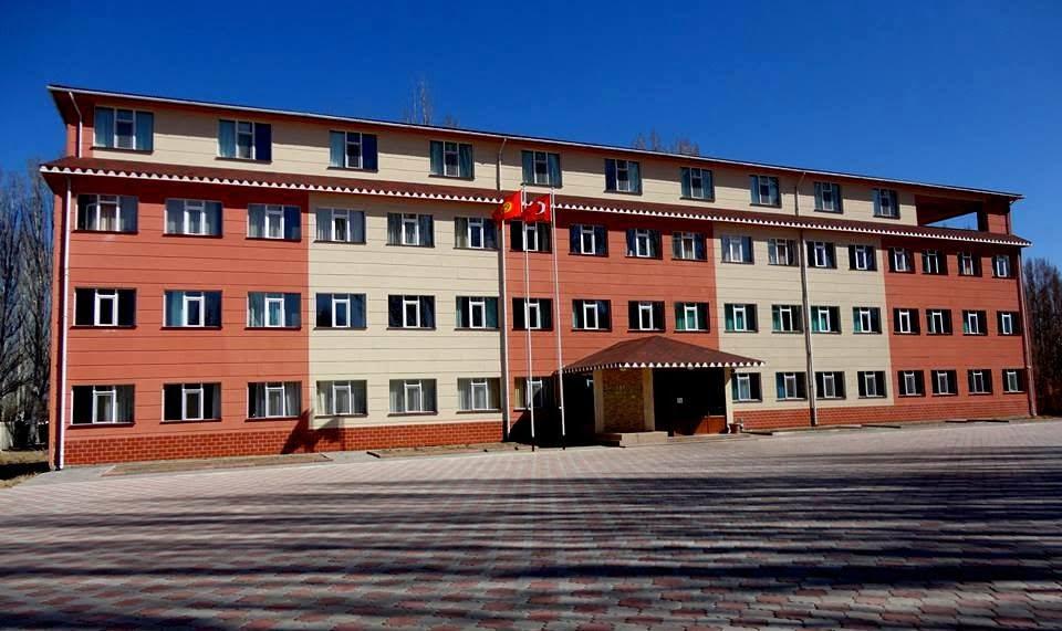 Kyrgyz-Turkish Yssykkul Girls' High School, Kyrgyzstan.