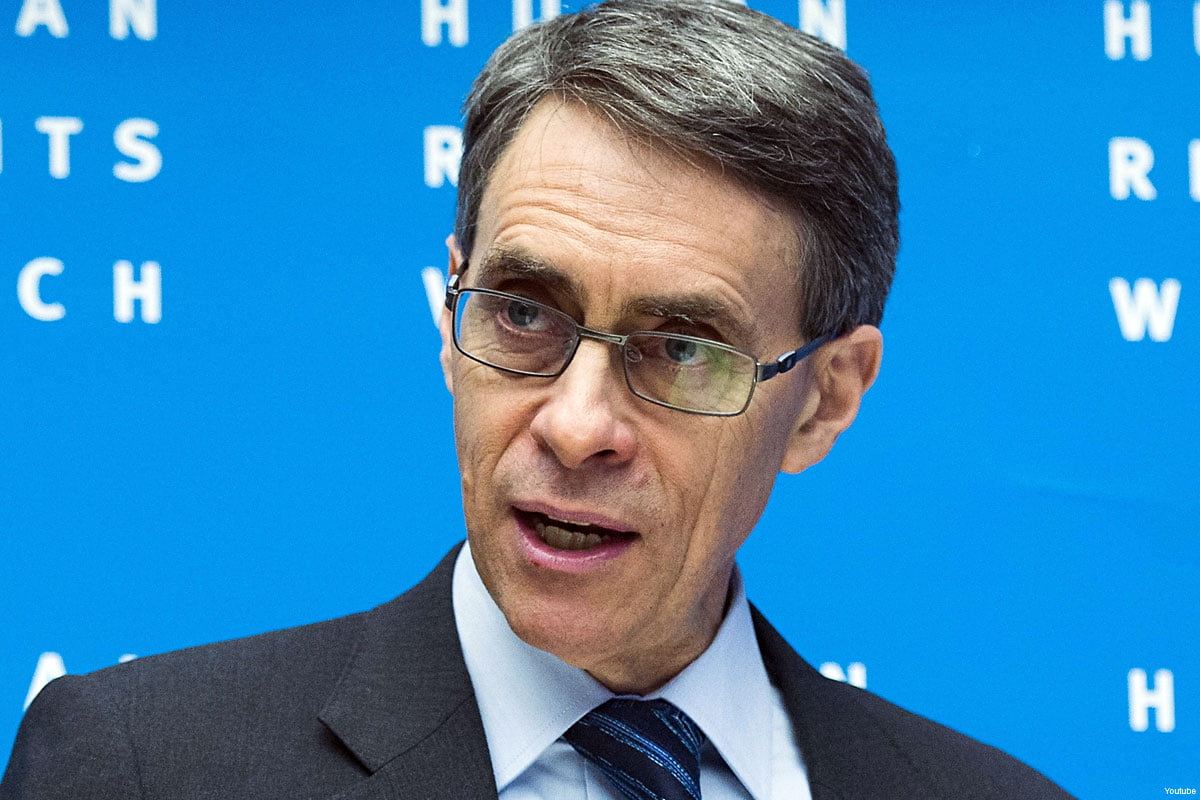 Kenneth Roth, executive director of US-based rights group Human Rights Watch