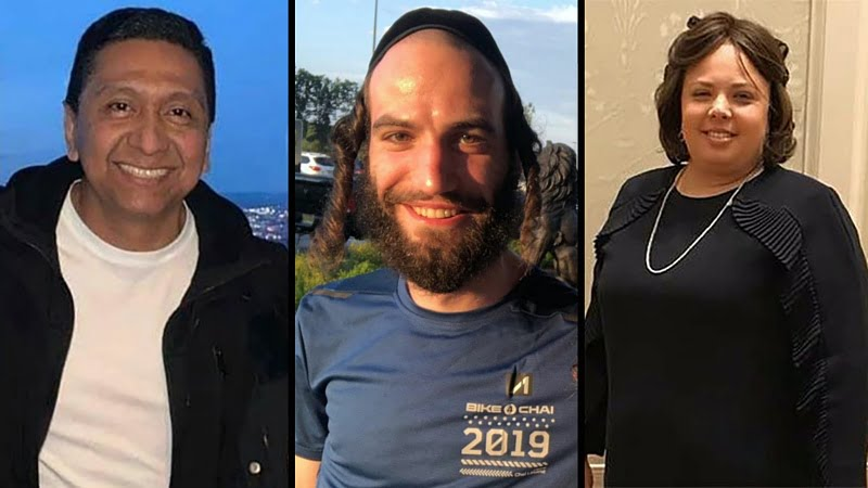 Among those killed on Tuesday were three bystanders who were inside the store when the shootout began - Miguel Douglas Rodriguez, 49, Moshe Deutsch, 24, and Mindel Ferencz, 33.