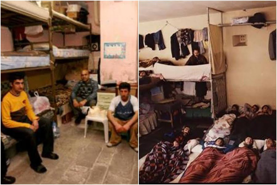 Images of Turkish prisons from last 5-10 years. Currently, Turkish prisons capacity is almost 220,00 and some 300,000 inmates are prisons tens of thousands whom are in lengthy pretrial detention or sentenced without evidence (HizmetNews).