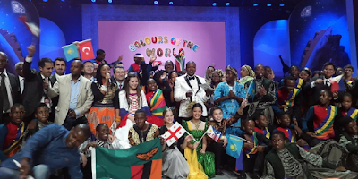 13th International Festival of Language and Culture - Colors of the World Nelson Mandela Theatre, Johannesburg, 18 March 2015